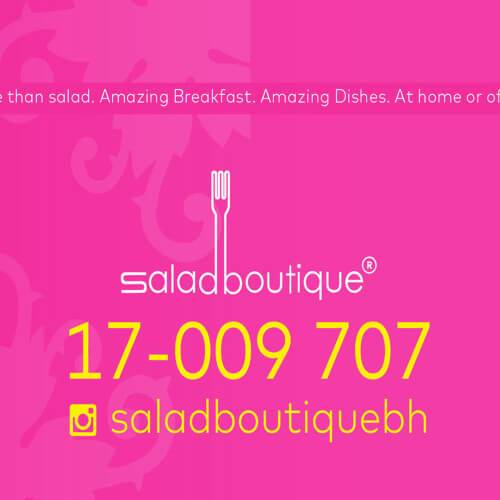 Salad Boutique Radio Commercial