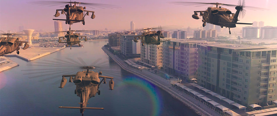 VFX Helicopter 6